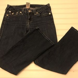 True religion blue jeans Sz 28